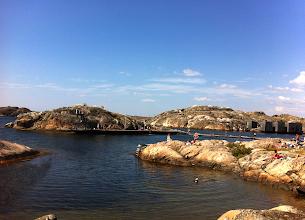 Photo: Swimming in Skärhamn.