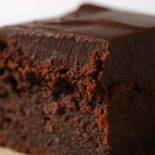 Chocolate Mascarpone Brownies.