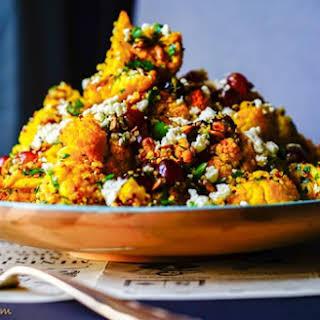 Roasted Turmeric Cauliflower & Quinoa Salad.