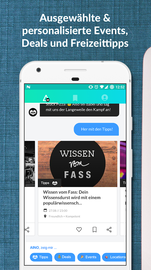 AINO - Hamburg, Events & Deals- screenshot