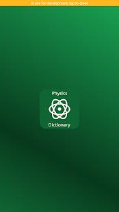 Physics Dictionary - náhled