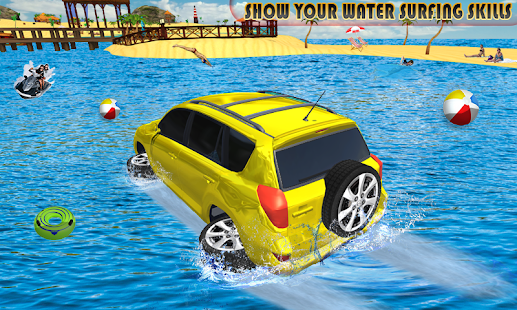 Water Surfer Prado Car Floating Race