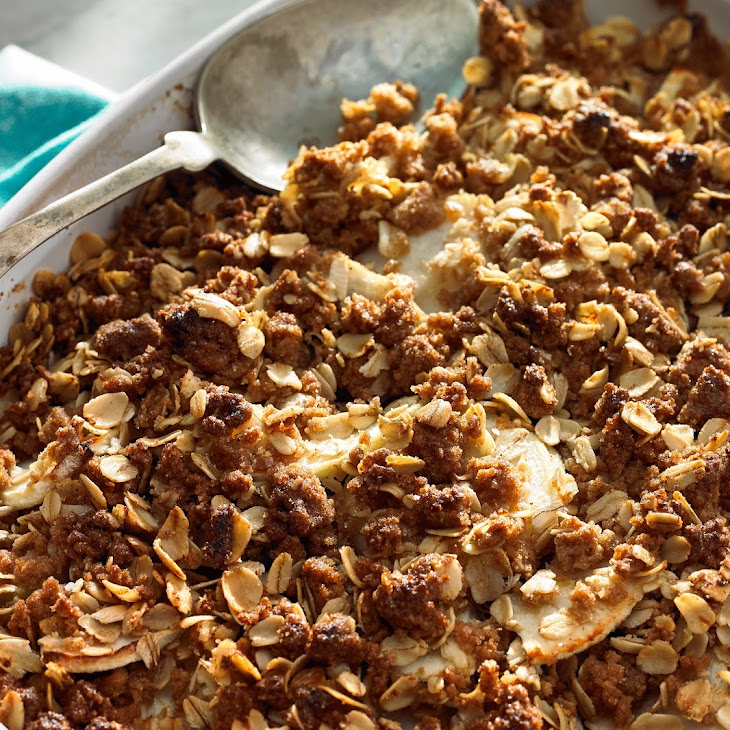 Whole Wheat Pear & Apple Crisp Recipe