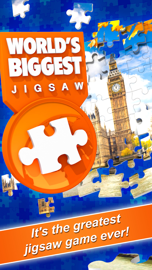 World's Biggest Jigsaw- screenshot