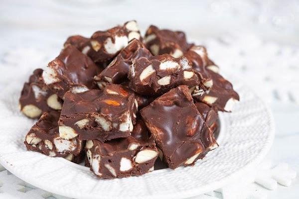 Rocky Road Fudge Recipe