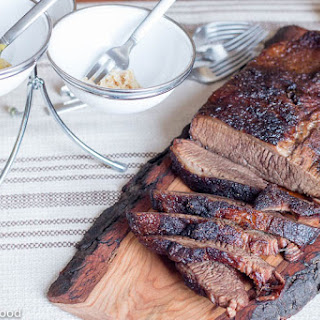 Simple Oven Roasted Beef Brisket.