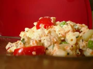 Picnic Tuna Pasta Salad