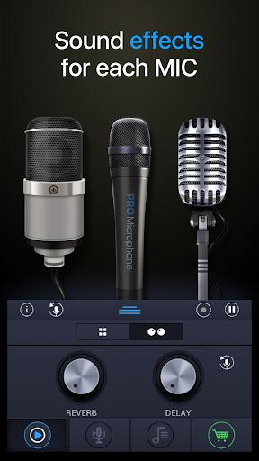 Pro Microphone 1.2.5 screenshots 2