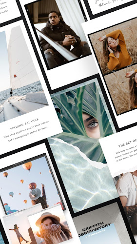 Unfold — Create Stories Android App Screenshot