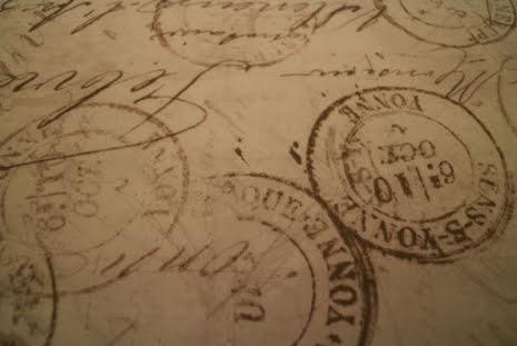 Tim Holtz, Taupe, Correspondence Coats (11502)