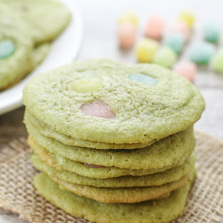 Matcha Green Tea Mochi Cookies