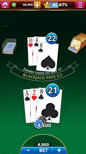 BLACKJACK! screenshot 5