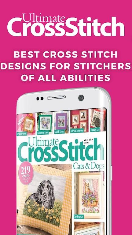 Ultimate Cross Stitch Magazine - Stitching Pattern  poster 0