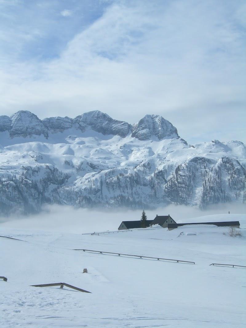 Bianco sul suolo, sulla valle, nel cielo di MTB_Friuli