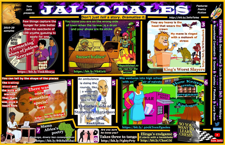 A snapshot of the #JalioTales collection