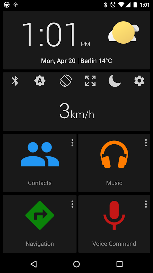 Car dashdroid-Car infotainment- screenshot