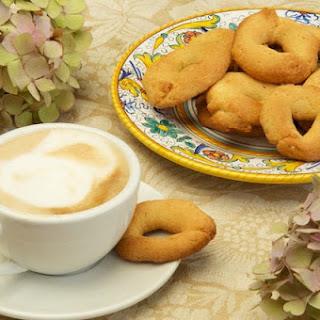 "Taralli dolci, or ""Nana's Cookies""."