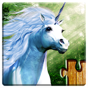 Unicorns Jigsaw Puzzles Game - Kids & Adults ?