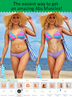 Retouch Me: body & face Editor for Beauty Photo Screenshot
