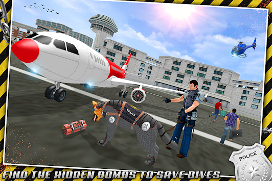 Robotic Police Dog: K9 Dog Chase Simulator apk screenshot