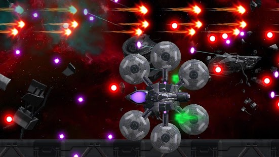 Space Shooter : AsaP Bullet Hell white Screenshot