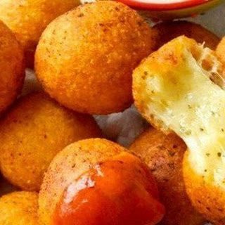 AMAZING cheese balls.