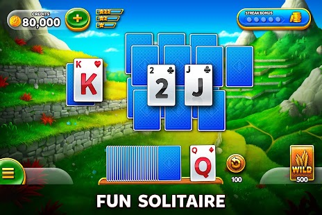 Solitaire Grand Harvest - Free Tripeaks Solitaire Screenshot