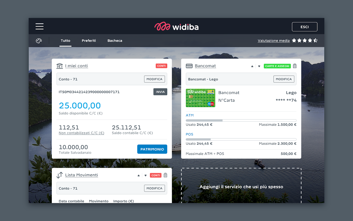 Widiba- screenshot