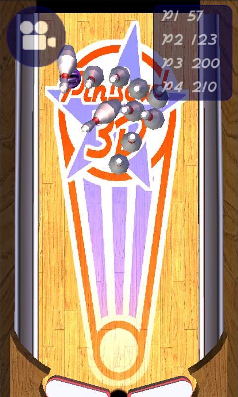 3D Pinball Bowling - screenshot