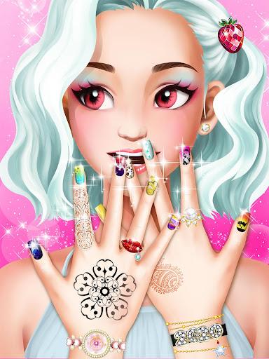 Nail Salon : Nail Designs Nail Spa Games for Girls  screenshots 7