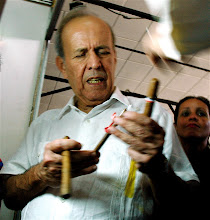 Photo: Ricardo Alarcon, president of Cuba's National Assembly. Tracey Eaton photo.