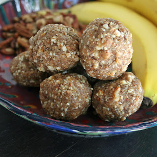Banana Pecan Balls