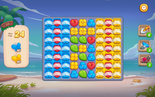 Ohana Island: Blast flowers and build filehippodl screenshot 14