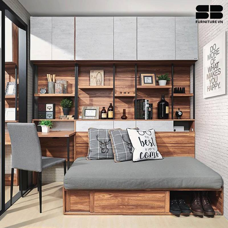 Giường ngủ gỗ đa dạng về kiểu dáng, mẫu mã