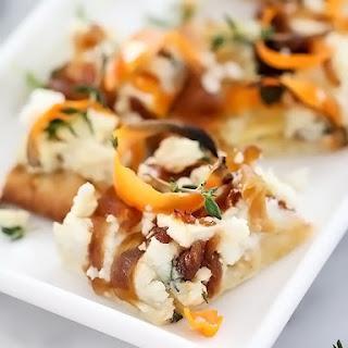 Sweet Potato and Caramelized Onion Pizza