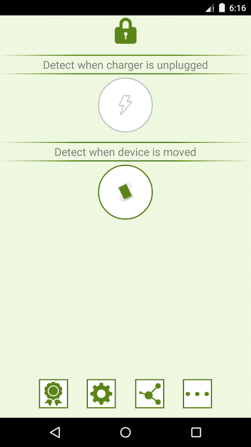 Anti-Theft Alarm - screenshot