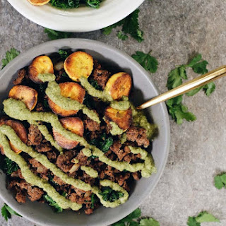 Ground Beef and Plantain Bowls (Paleo + Whole30).