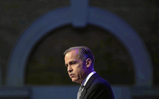 Bank of England govenor Mark Carney delivers a speech at the International Fintech Conference in London on April 12 2017. Picture: REUTERS/NEIL HALL