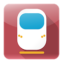 In Train timetable train Italy icon