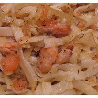 Salmon Tagliatelle