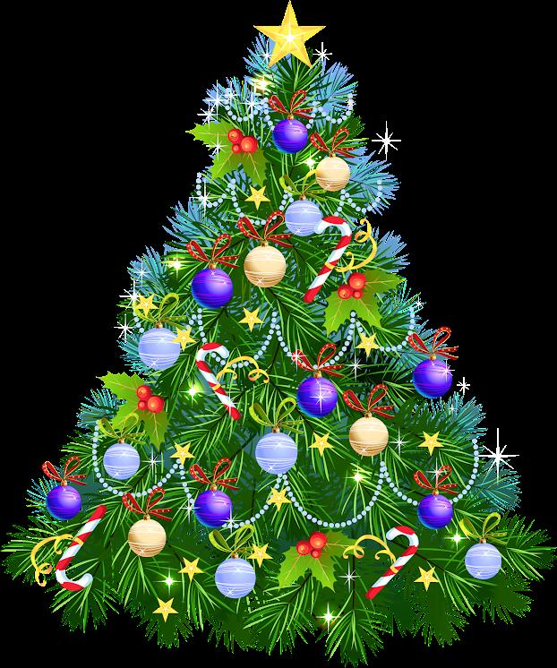 Transparent Christmas Tree With Purple Ornaments SJIGXkXtu8HmUioZlHAO