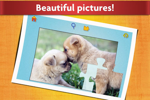 Dogs Jigsaw Puzzles Game - For Kids & Adults ud83dudc36 16.1 screenshots 10