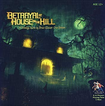 Box art for Betrayal at House on the Hill ( source: Published by Avalon Hill Games )