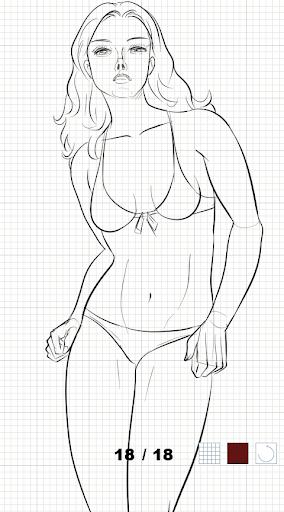 How to draw female body  screenshots 5