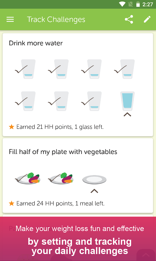 My Diet Coach - Weight Loss & Calorie Counter - Android ...