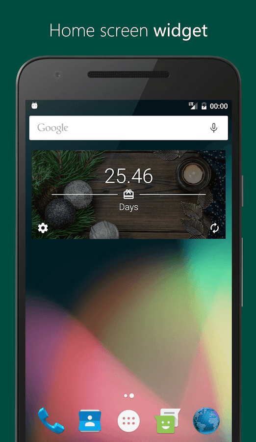 Countdown Time - Event Countdown & Big Days Widget- screenshot