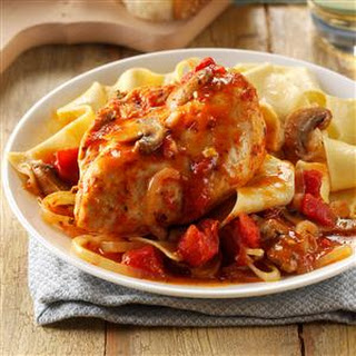 Contest-Winning Chicken Cacciatore