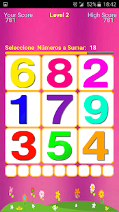 Maths Numbers Sum (Spanish) - náhled