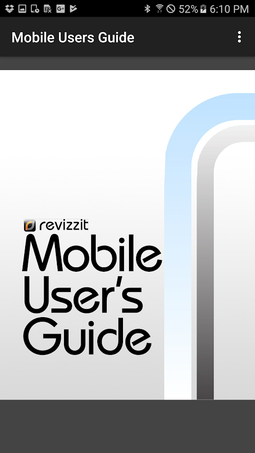 Revizzit Mobile- screenshot