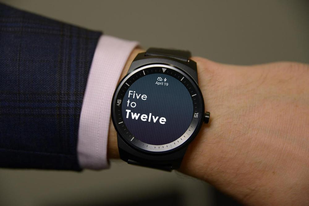 Fuzzy Watchfaces Android Wear- screenshot